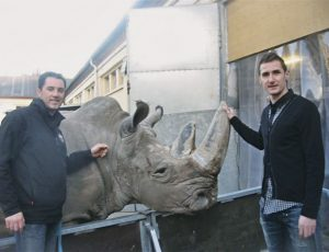 Miroslav Klose & Tsavo & Martin Lacey Jr